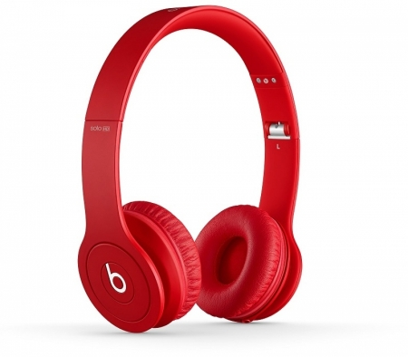 Наушники Monster Beats Solo HD Matte Red