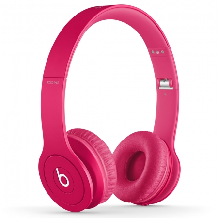 Наушники Monster Beats Solo HD Matte Pink
