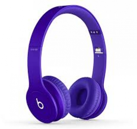 Наушники Monster Beats Solo HD Matte Purple