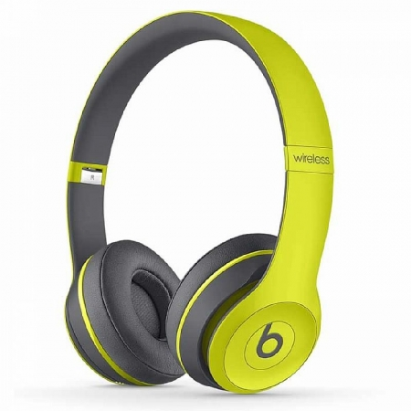 НАУШНИКИ MONSTER BEATS SOLO 2 WIRELESS SHOCK YELLOW